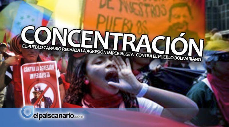 15 JUNIO. Contra la agresión imperialista a Venezuela: concentración frente a la Subdelegación del Gobierno en Tenerife (19:00 horas)