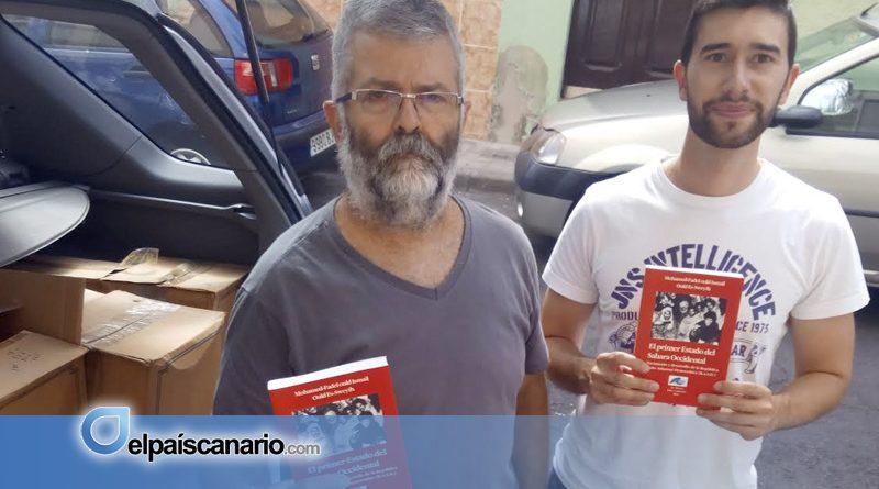 Alternativa Nacionalista Canaria dona 300 libros sobre la causa saharaui