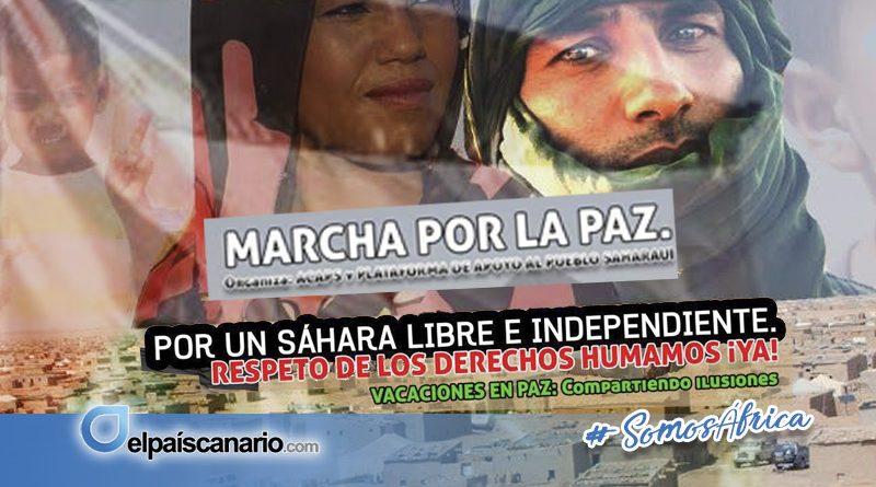 8 JULIO. Manifestación por un Sahara libre e independiente