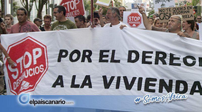 25 JULIO. La Pah Tenerife reclama un Parque de Alquiler Social