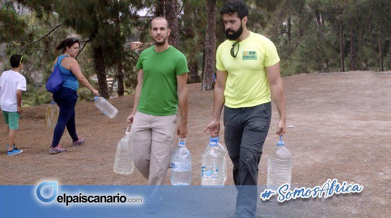 9 JULIO. Se convoca una acción de riego de las repoblaciones en las Presas del Pinto (Arucas)