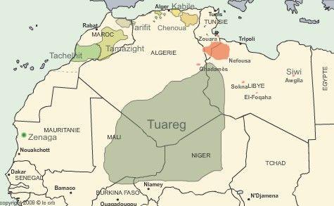 La bandera amazigh naci en Canarias Elpascanariocom