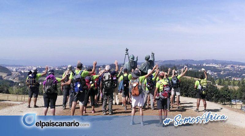 El sábado 26 de agosto parte una expedición de 35 personas desde Arucas hacia Galicia para realizar el Camino de Santiago