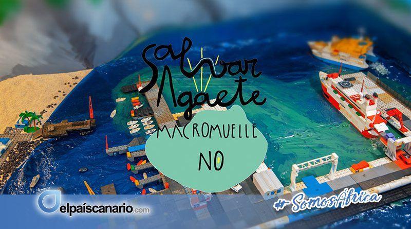"""El colectivo social Agaete sin macromuelle presenta el video de campaña """"Salvar Agaete: Macromuelle No"""""""