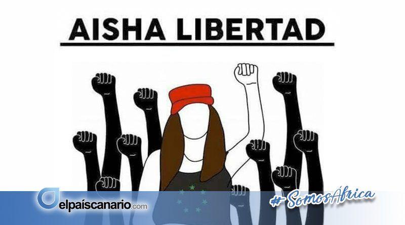 6 SEPTIEMBRE. Concentraciones por la libertad de Aisha en Gran Canaria y en Tenerife