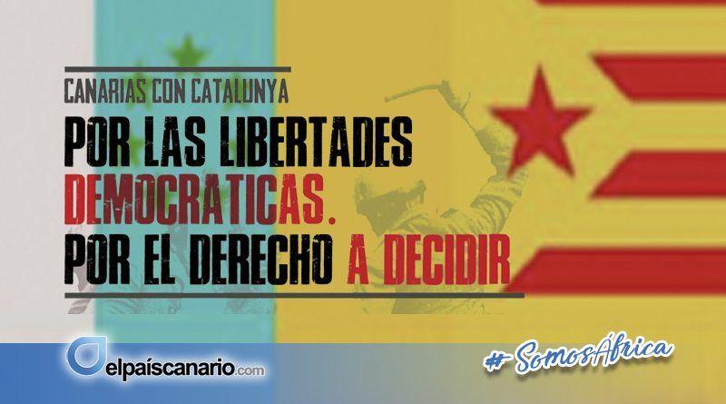 29 SEPTIEMBRE. Concentraciones en Canarias por el derecho a decidir
