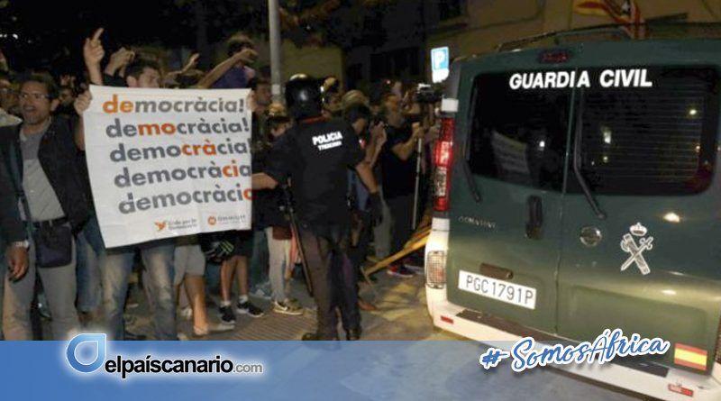 ANC denuncia la lamentable actuación por parte del Estado español en Cataluña