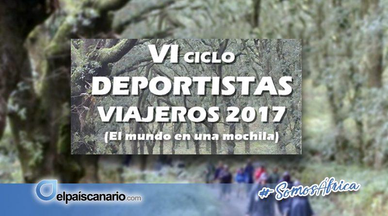 """2 OCTUBRE. Comienza la sexta edición del Ciclo """"Deportistas Viajeros – DPV 2017"""""""
