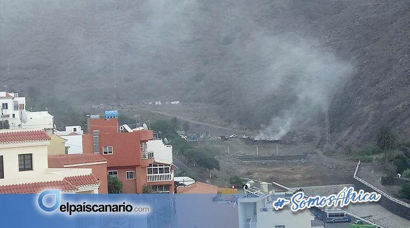 Grupo Mixto de Valle Gran Rey solicita la comparecencia de los concejales de Medio Ambiente y Obras y Jardines por los reiterados conatos del Altito