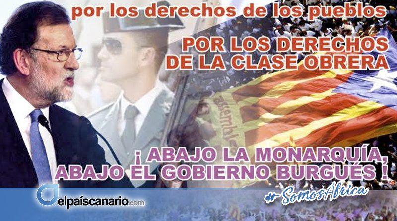 El Gobierno de Mariano Rajoy ataca violentamente los derechos del pueblo de Cataluña