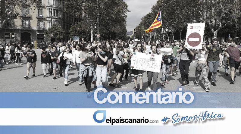 Podemos y Sí Se Puede dejan sola a Cataluña