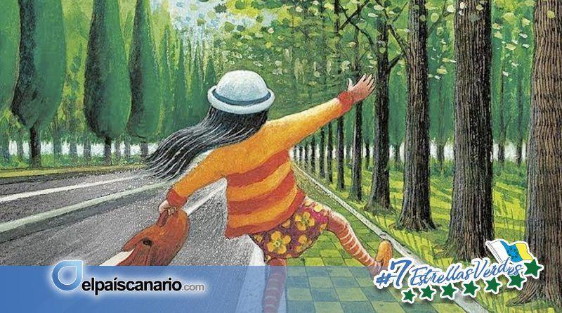 Noviembre Forestal 2017 llega a Firgas de la mano de las historia de árboles de Lidia Betancor en LA CASA VERDE