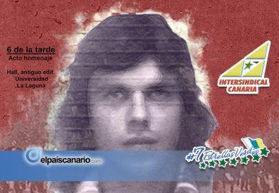 Acto conmemorativo del 40 aniversario del asesinato de Javier Fernández Quesada