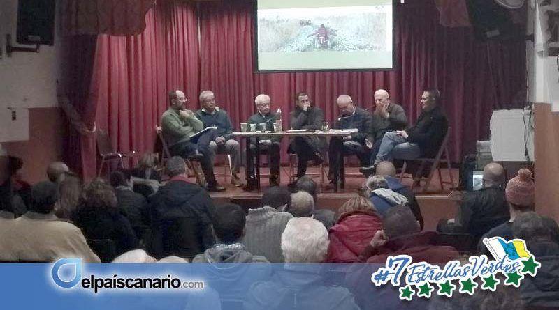 Esclarecedor encuentro-debate sobre el impacto y consecuencias del hormigón en la pista de Las Hiedras