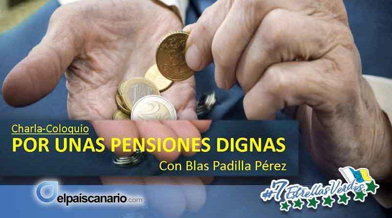 """16 FEBRERO. Se llevará a cabo la Charla """"Por unas Pensiones dignas"""", en LA CASA VERDE"""