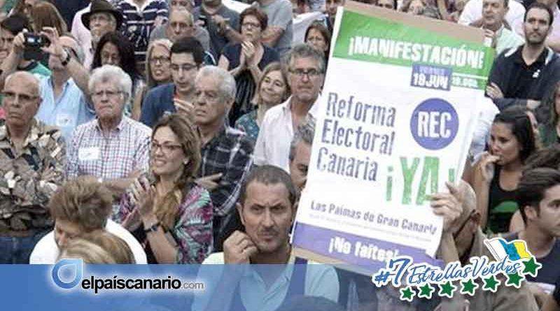 Anticapitalistas Canarias considera la propuesta de reforma electoral necesaria, pero insuficiente