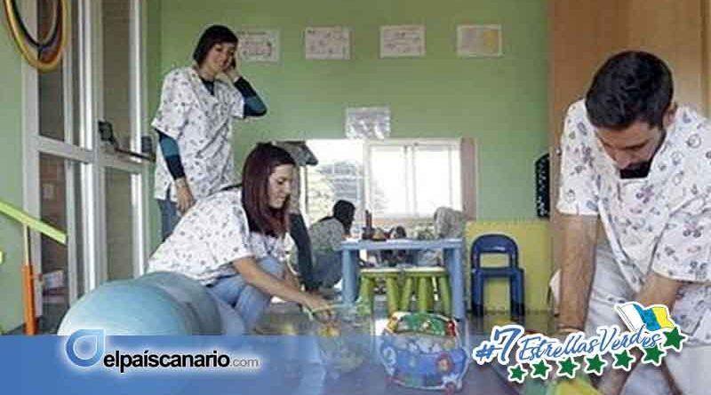 Somos Lanzarote reclama una red de atención temprana para la niñas y niños con diversidad funcional