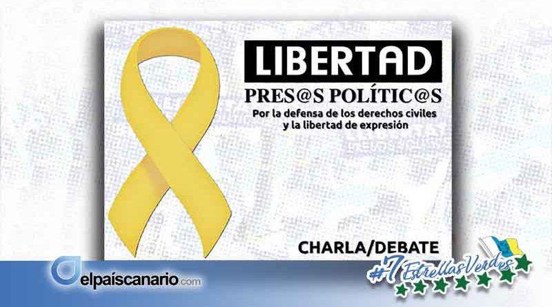 11 ABRIL. Charla en defensa de la libertad de los presos y presas políticos