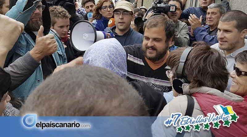 Comunicado de apoyo del movimiento social ante la detención del activista detenido Roberto Mesa Flores