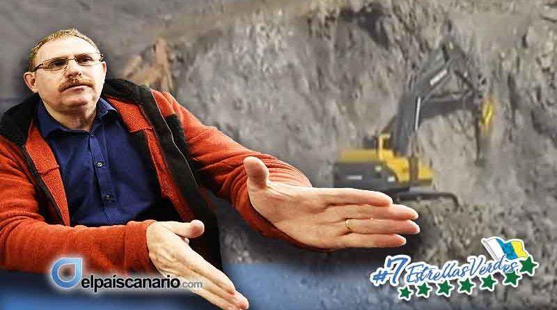 Podemos-Tenerife y la extracción de áridos en los barrancos de Arico