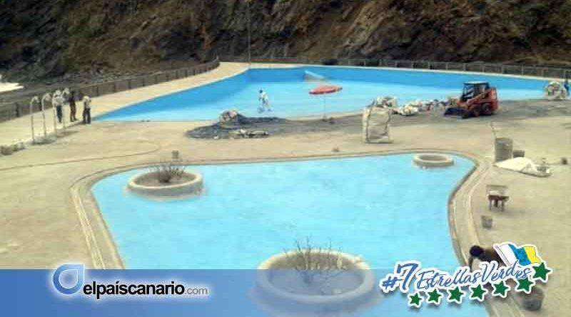 Sí se puede planteará al Cabildo la situación en la que se encuentra el Parque Marítimo de Vallehermoso