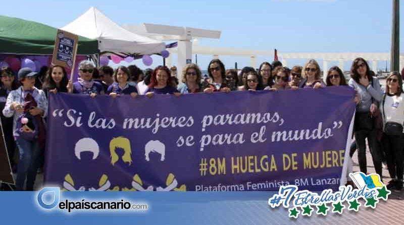 El Foro Contra la Violencia de Género de Lanzarote y la Plataforma Feminista 8 de Marzo de Lanzarote se suman a las manifestaciones que reclaman la dotación económica de las políticas de igualdad