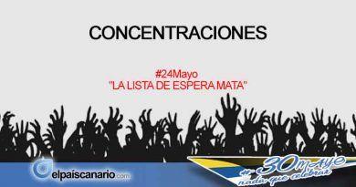 24 MAYO. Concentraciones frente a centros sanitarios en Fuerteventura y Tenerife