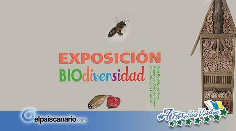 """17 MAYO. Se inaugura en el Centro Municipal de Cultura de Arucas la Exposición """"BIOdiversidad"""""""