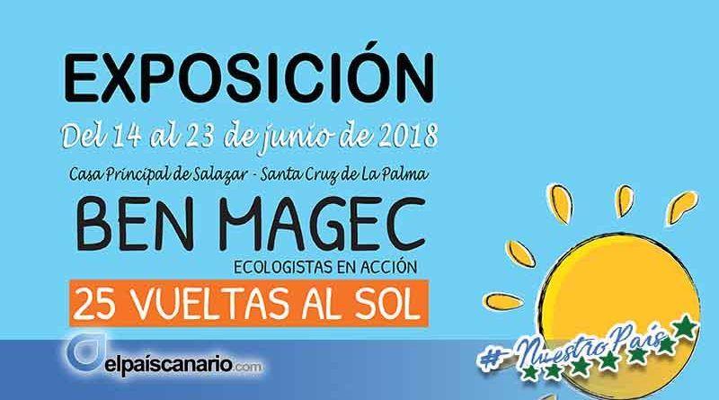 Ben Magec- Ecologistas en Acción conmemora los 25 años de su nacimiento con una exposición en La Palma