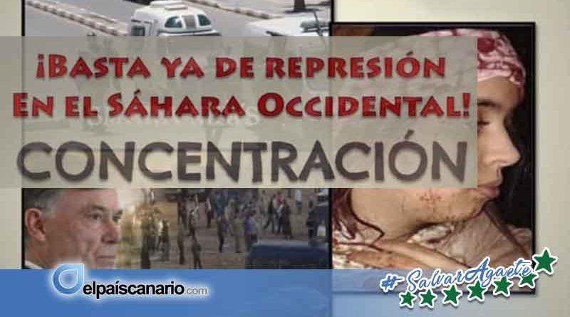 4 JULIO. Convocada concentración en Santa Cruz de Tenerife contra la represión en el Sáhara Occidental