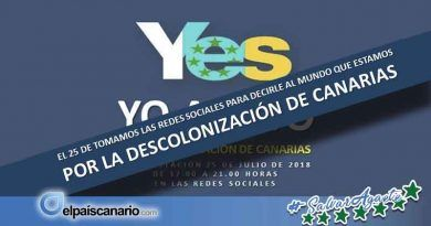HIJOS DE CANARIAS quiere que el anticolonialismo canario sea la alternativa política a una autonomía fracasada y un régimen colonial en descomposición