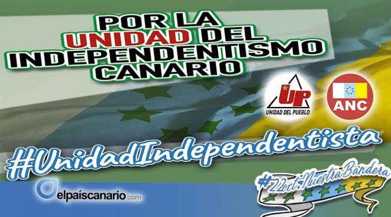 Por la unidad de las personas y organizaciones independentistas de Canarias