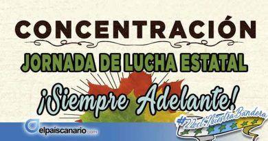 17 SEPTIEMBRE. Convocada concentración a las puertas del Parlamento de Canarias en defensa de las pensiones públicas