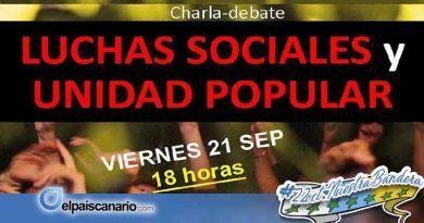 21 SEPTIEMBRE. Anticapitalistas promueve una charla coloquio sobre la unidad popular y la lucha social