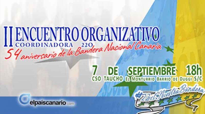 Este viernes tendrá lugar el segundo encuentro organizativo para preparar los actos del 54 aniversario de la bandera canaria