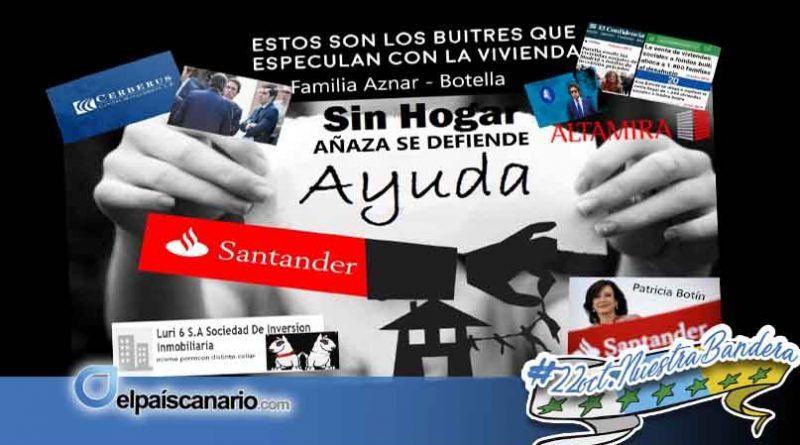 Los vecinos de Añaza amenazados por un intento de desahucio masivo denuncian este lunes en Fiscalía (rueda de prensa a las 10:00 horas)