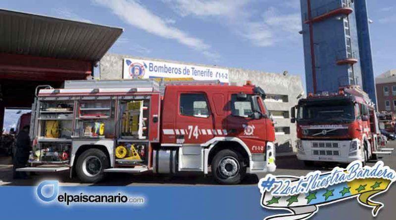 El Consorcio de Bomberos de Tenerife entrega las medallas al mérito a su personal más veterano