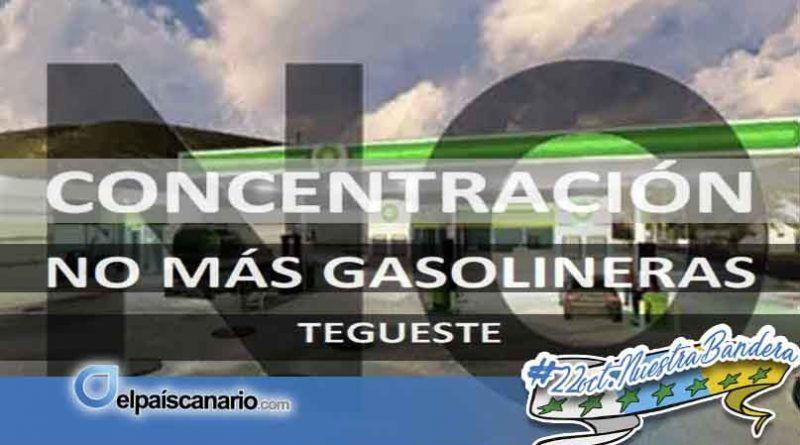 """27 OCTUBRE. Concentración: """"En Tegueste NO necesitamos más gasolineras"""""""