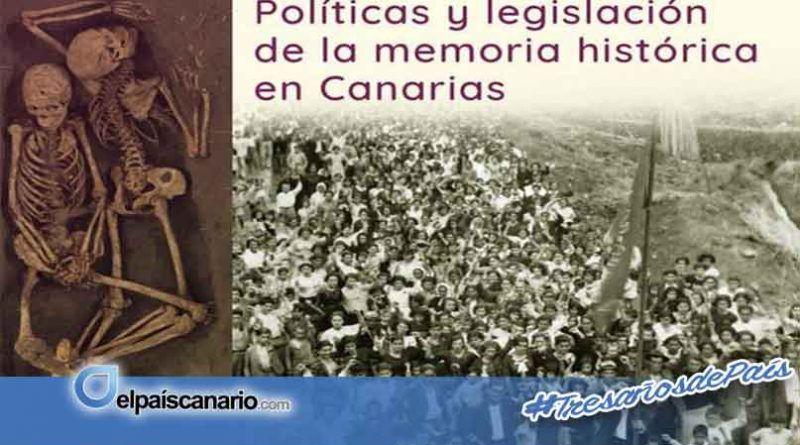 8 NOVIEMBRE. Debate sobre políticas y legislación de la memoria histórica en Canarias