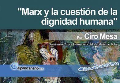 """16 NOVIEMBRE. Conferencia: """"Marx y la cuestión de la dignidad humana"""""""