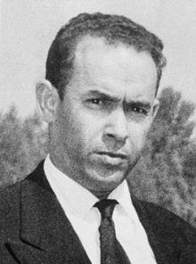 Mehdi Ben Barka, político y matemático marroquí nacido en Rabat en 1920, fue luchador incansable por la independencia de su país y líder indiscutible de las masas progresistas y revolucionarias marroquíes. Fue secuestrado y asesinado en 1965.