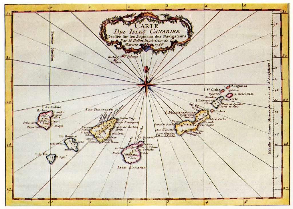 islascanarias-mapa-antiguo el pais canario