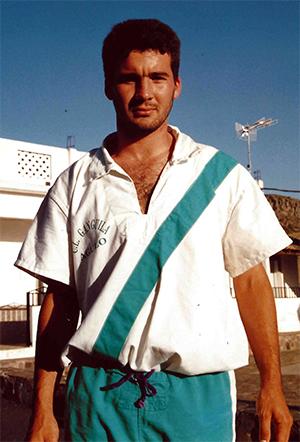 Mingo Correa luchador destacado del Mulagua-Ganguila