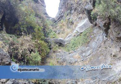 Ampliada la superficie contaminada del Barranco de Ajabo por los efectos del campo de tiro