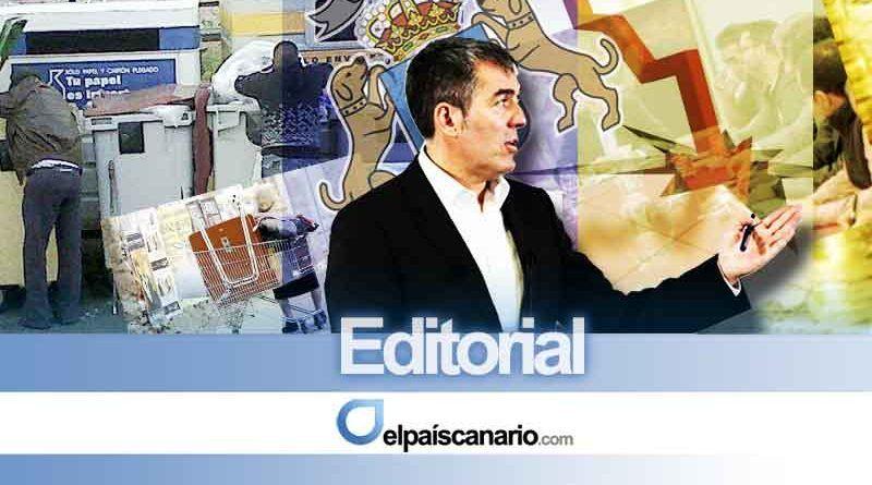 Coalición Canaria: poder y decadencia en las Islas