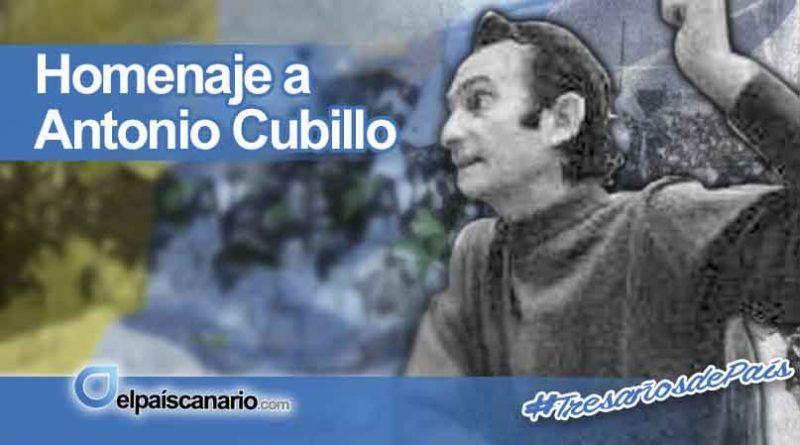 Homenaje a Antonio Cubillo Ferreira en Radio San Borondón