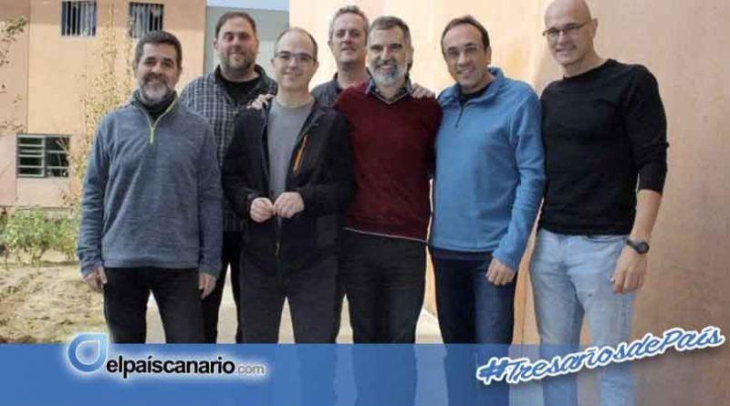 ANC y UP muestran su solidaridad con los presos políticos catalanes en huelga de hambre