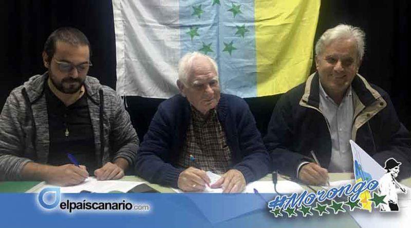 ANC, UP y CNC concurrirán juntas a las próximas elecciones para luchar por los derechos sociales, políticos y nacionales de Canarias