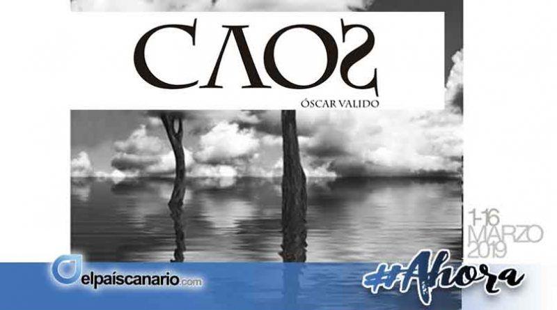 1 MARZO. Llega la Exposición CAOS de Óscar Valido a la Biblioteca Municipal de Arucas