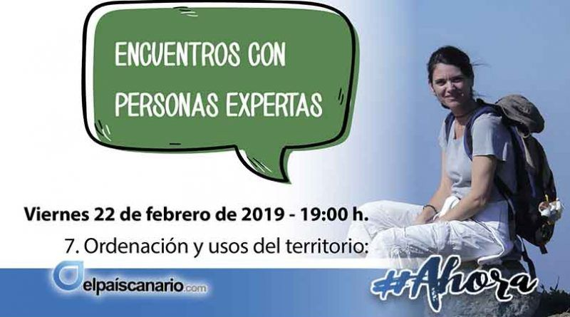 22 FEBRERO. Angela Castellano Santana hablará en LA CASA VERDE de Firgas sobre ordenación y usos del territorio